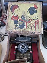 A German (USA Patent) Child's Typewriter in origin