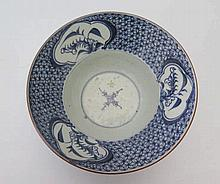 An Eighteenth Century Chinese Blue and White Bowl