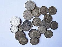 Bag of Silver and other coins