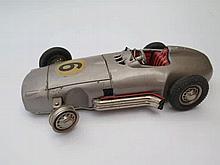 West German 'Solo' tin Plate Racing Car