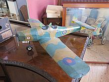 R.A.F. Petrol Engined Model Aeroplane