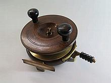 A Carter & Co. Wood and Brass Mounted 7
