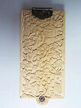 A Nineteenth Century Ivory Aide Memoir