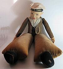 A Large Norah Wellings H.M.S. York Doll, 90cm