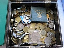 Box of World Coins
