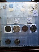 Coin Album and contents of British silver, copper