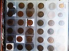 Coin Album and contents of British Pennies etc