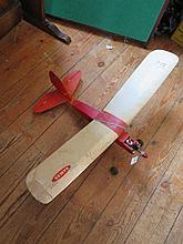 Petrol Engined Model Aeroplane