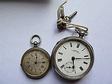 A Kay's Famous Lever Silver Cased Pocket Watch and