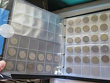 Two Albums of World Coins