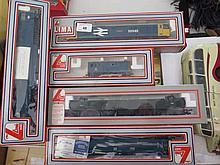 Five Lima OO-Guage Engines