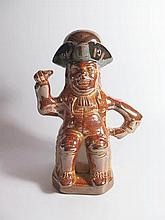 An Early Salt Glazed Toby Jug, A/F