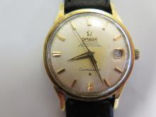 A Gent's Omega Constellation Automatic Wristwatch _ running
