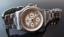Ebel Automatic Gent's Chronograph Wristwatch _ running