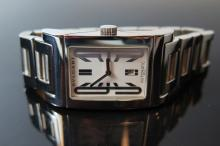A Bulgari Rettangolo Gent's Automatic Wristwatch with subsidiary seconds di