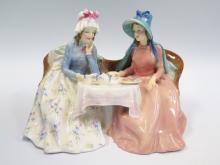 A Royal Doulton 'Afternoon Tea' Figural Group, Rd. 809200