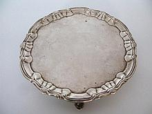 A George II Silver Salver, London 1751, William