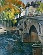 Jean-Paul ANDERBOUHR-1909-2006 PARIS, LE PONT, Paul-Jean Anderbouhr, Click for value