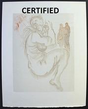 The Siren of the Dream - Certified Wood Block - Salvador Dali.