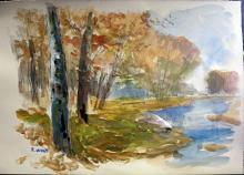 Original Watercolor by Robert Wood