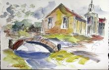 Original Watercolor Painting by G. Watson