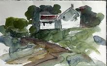 Original Watercolor by M. Cole Thomas
