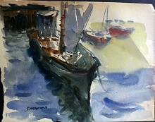 Original Watercolor by Sessions