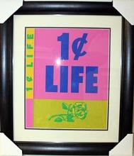 One Cent Life Portfolio - Front Cover - Roy Lichtenstein