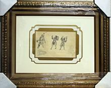 Early 1930's Pencil Drawing by Ludovic Rodo Pissaro