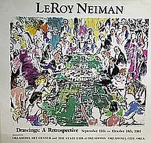 Drawings: A Retrospective - Lithograph - Leroy Neiman