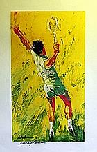 Tennis - Lithograph - Leroy Neiman