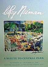 A Salute to Central Park - Lithograph - Leroy Neiman