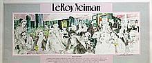 Polo Lounge  - Lithograph - Leroy Neiman