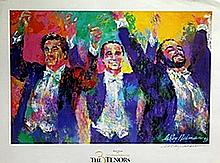 The 3 Tenors - Lithograph - Leroy Neiman