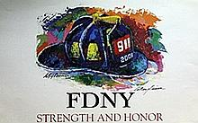 Strength and Honor - Lithograph - Leroy Neiman