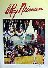 The President's Birthday - Lithograph - Leroy Neiman