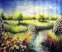 V. Levieils - Saison Fleurie - Original Acrylic on Canvas