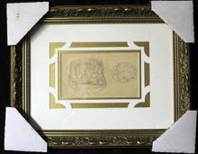 Custom Framed - Original Drawing (L.B)