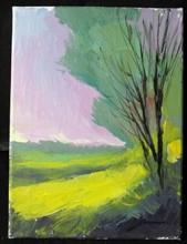 Michael Schofield - Lavender Skies - Original Painting