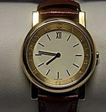Stunning Unisex 18kt Gold BVLGARI Watch