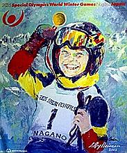 Special Olympics - Lithograph - Leroy Neiman