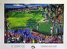 Valhalla Golf Course - Lithograph - Leroy Neiman