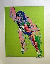 Jogger  - Lithograph - Leroy Neiman