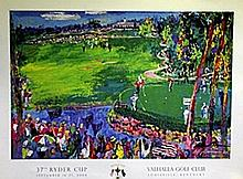 Ryder Cup - Lithograph - Leroy Neiman