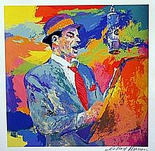 Frank Sinatra - Lithograph - Leroy Neiman