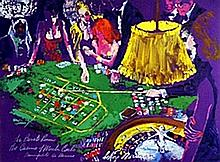 The Private Room - Lithograph - Leroy Neiman