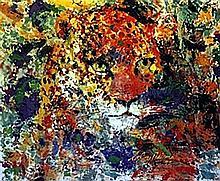 Cheetah - Lithograph - Leroy Neiman