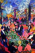 Casino Gambling - Lithograph - Leroy Neiman