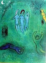 Marc Chagall - Dream and the Nymphs - Lithograph