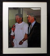 Muhammad Ali and Bill Clinton - Memorabilia